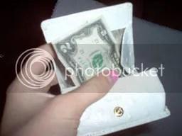 two dollar bill in my wallet