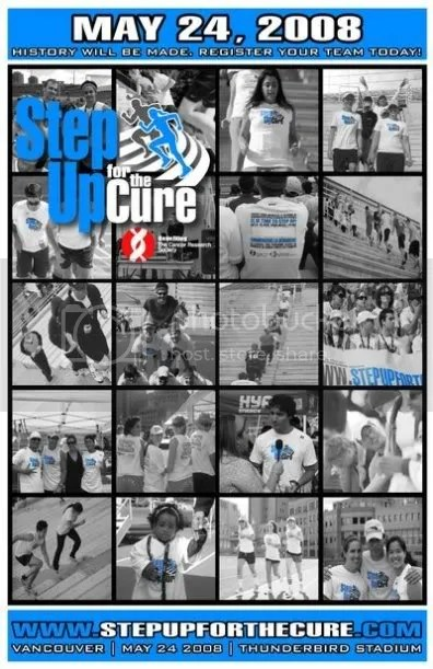Step Up For the Cure- Vancouver