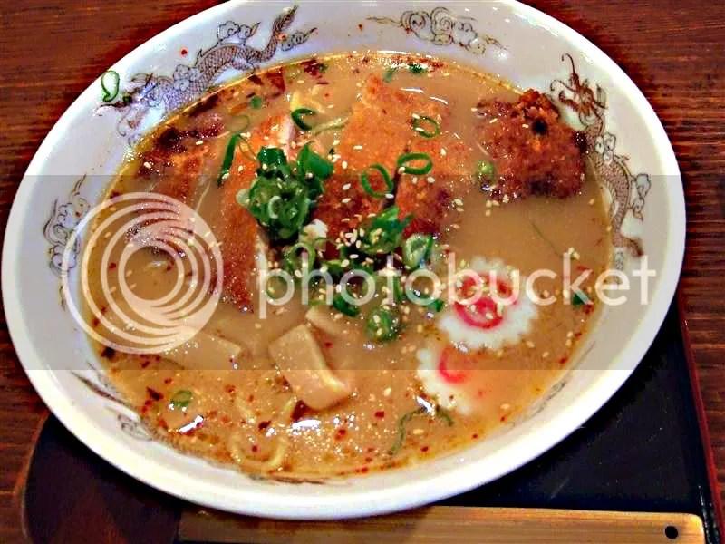 Torikatsu Miso Ramen - $9.90