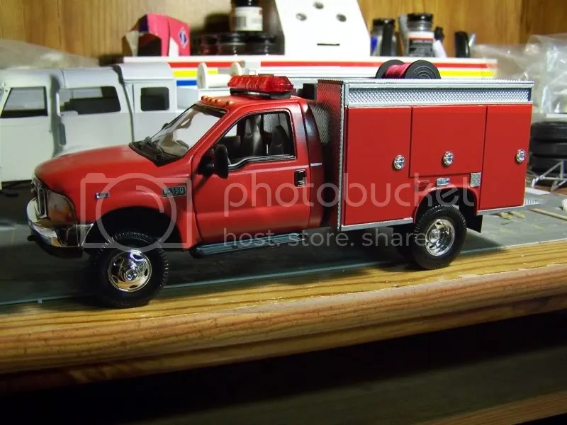 The Scale Firehouse View Topic F 350 Mini Pumper