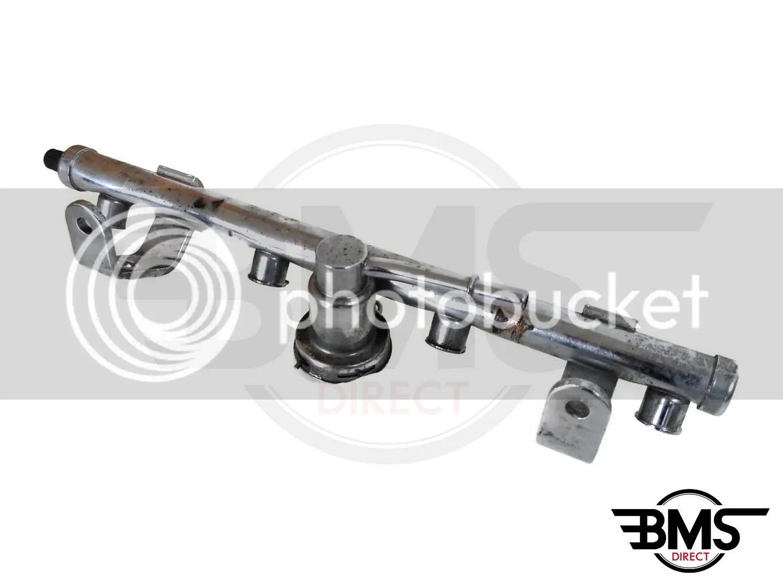 Bmw Mini One Cooper Fuel Injector Rail R50 R52 One