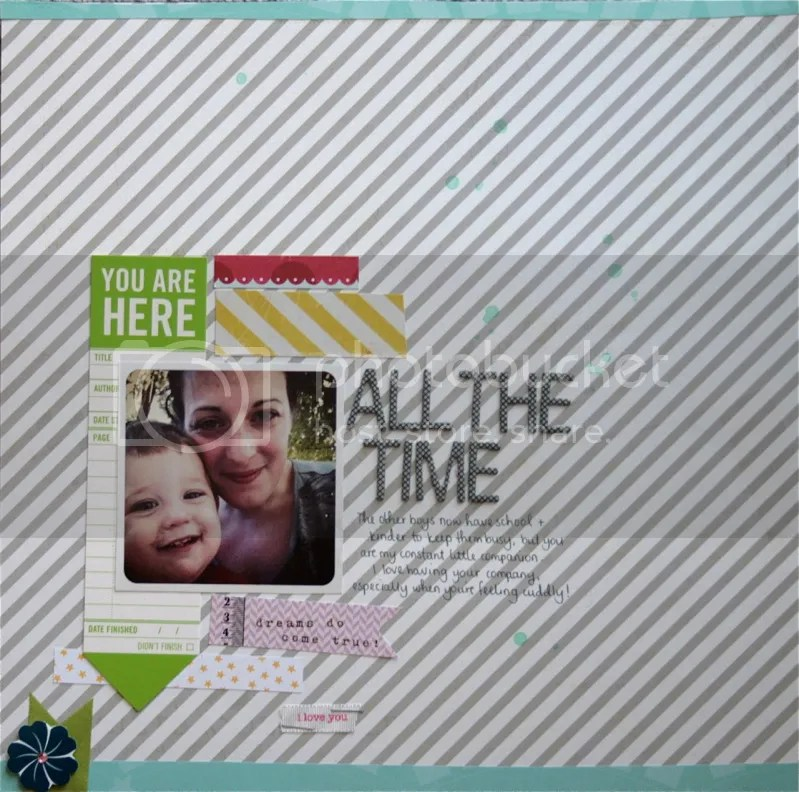 scrapbooking layout a piece of cake designs