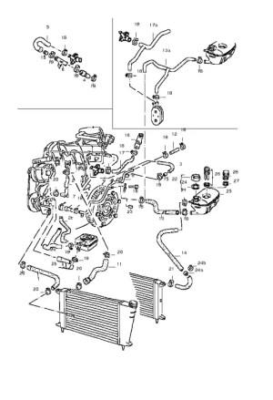 VWVortex  Mk1 Rabbit Cooling System & Hoses
