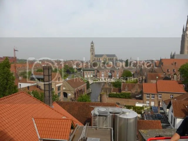 View from brewery roof