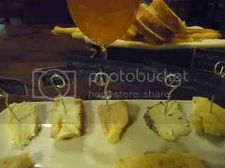 The Enoteca Decanter cheese plate