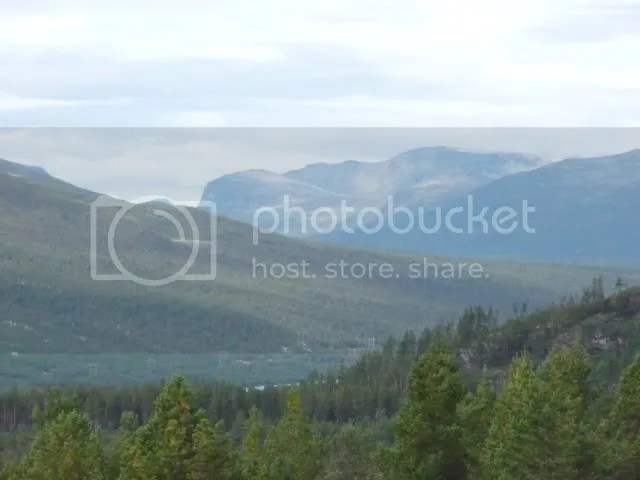View from Ruten Fjellstue