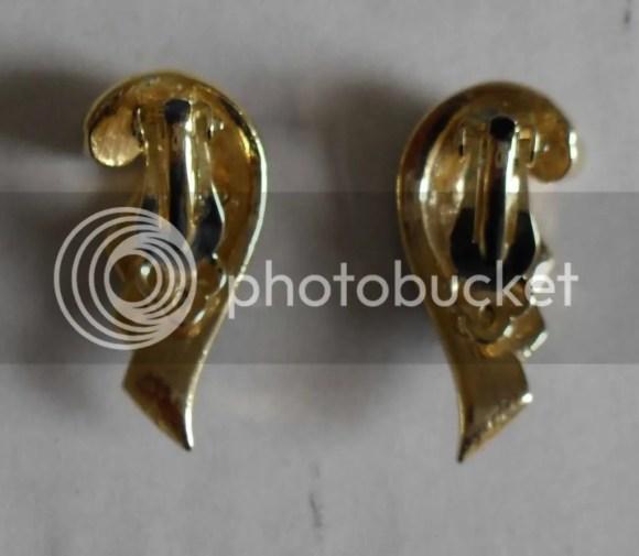 COSTUME JEWELLERY JOB LOT BROOCH EARRING WATCH CHAIN UK | eBay