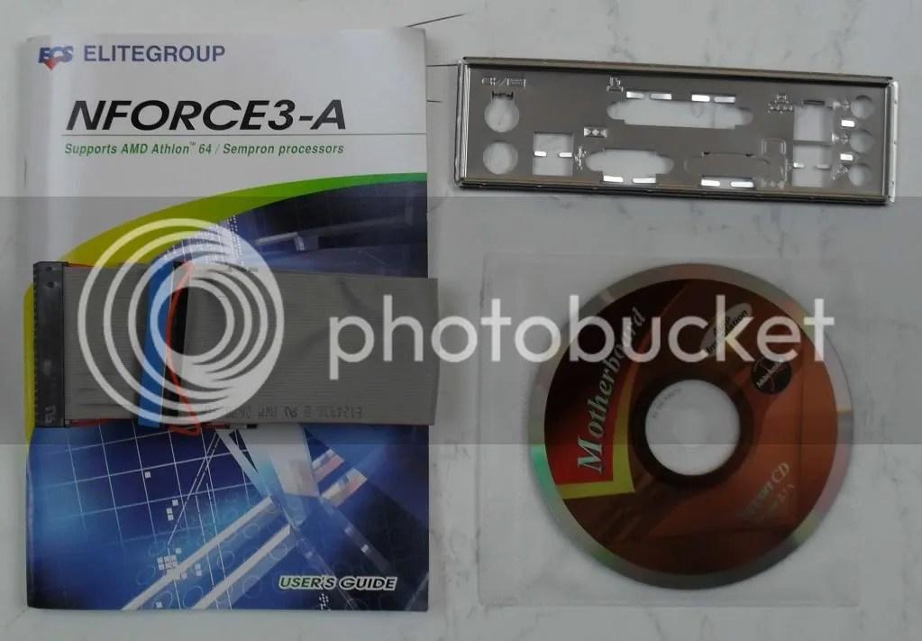 ECS NFORCE3 A939 MOTHERBOARD AMD SEMPRON CPU BUNDLE AGP EBay