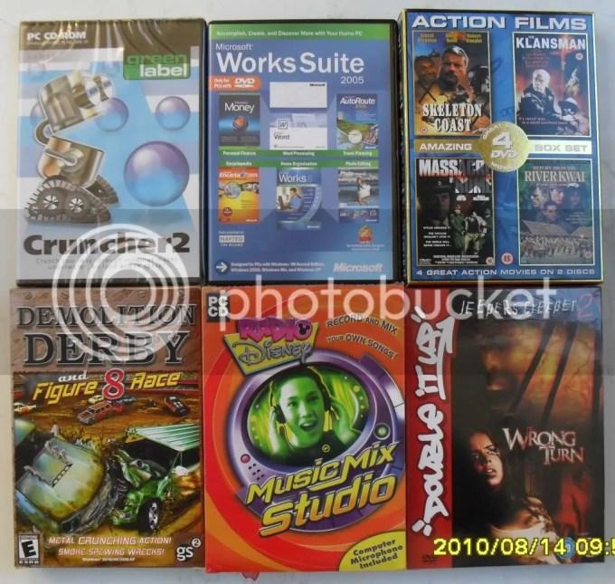 WHOLESALE DVD MOVIE PC GAMES KIDS CARTOON JOB LOT SET | eBay