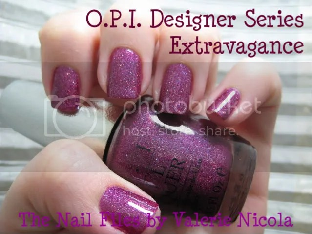 O.P.I. Designer Series Extravagance nail polish.