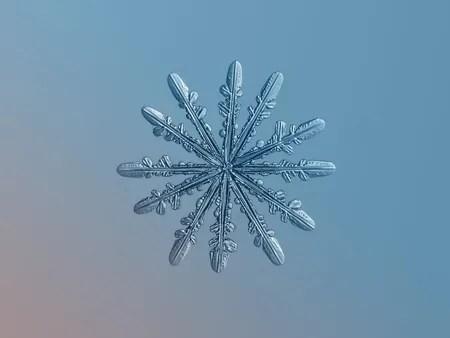 Snowflake Photograph be Alexey Kljator