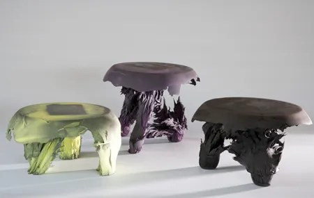 Three Gravity Stools by Jólan van der Wiel