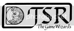 Logo usado pela TSR entre 1980 e 1982