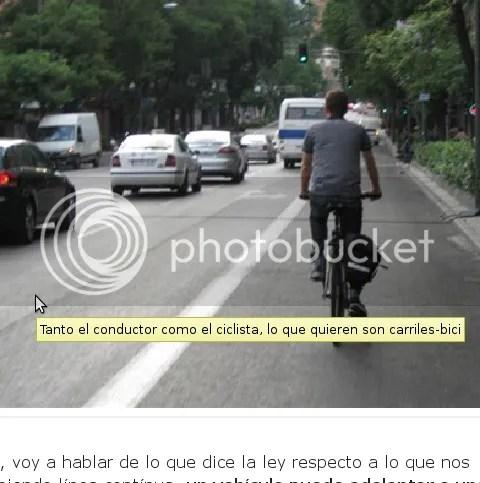 [pantallazo: tanto EnCarrilbiciPorMadrid como CarrilbiciyNoslaSudalaSeguridad quieren carriles-bici]