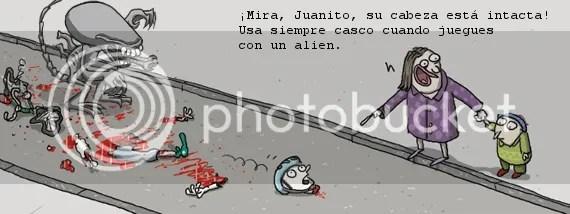 [viñeta: alien]