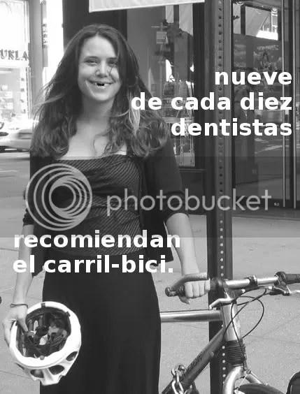 dentistas recomiendan el carril-bici]