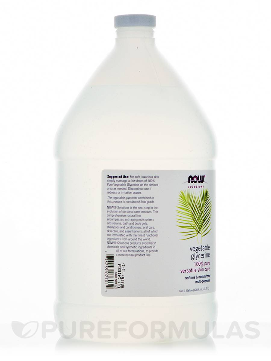 Now Foods Vegetable Glycerin Gallon