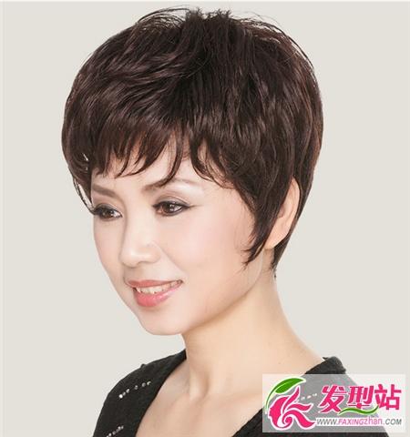 40-50歲女士髮型 時尚媽媽短髮圖片 - 壹讀