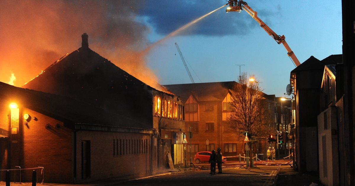 More Than 50 Firefighters Tackled A Huge Blaze At A