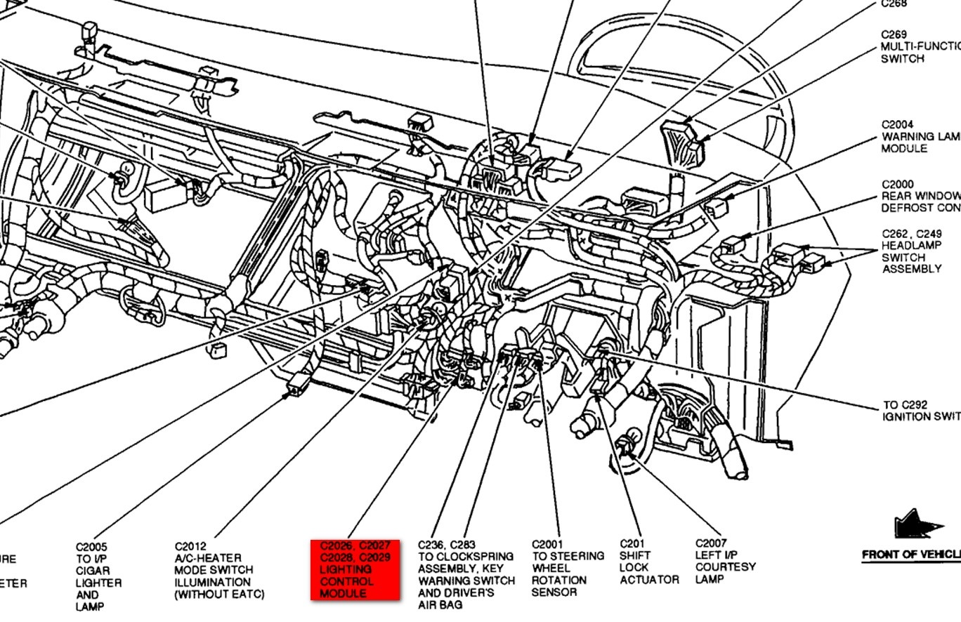 Crown Victoria Fuse Diagram