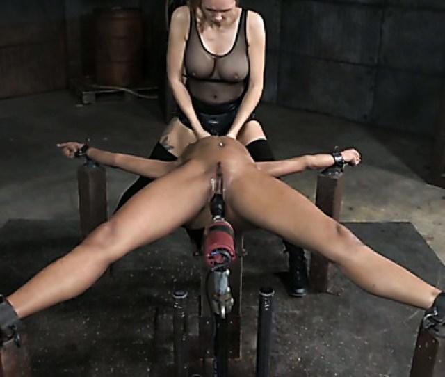 Nasty Chick Abigail Dupree Dildo Fucks Her Retrained Black Bitch Nikki Darling Hard