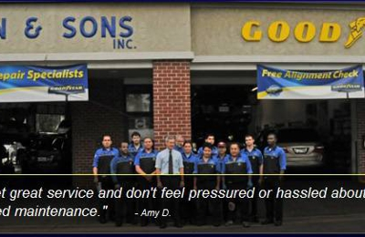 Hogan Amp Sons Tire And Auto 2421 Centreville Rd Herndon
