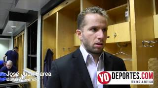 Jose Juan Barea contento por regresar a los Mavericks de Dallas