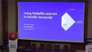 LibreOffice Conference 2019 – Using Makefile and m4 macro preprocessor to bundle JavaScript