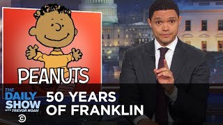 Franklin's 50th ″Peanuts″ Anniversary | The Daily Show