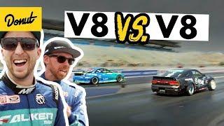 Battling V8 Nissans at LS Fest | Frenemies