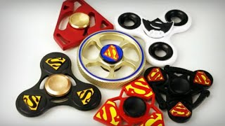 Superman Fidget Hand Spinners + 5 Giveaway Winners Announced! 👊🏻