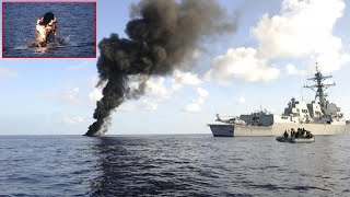 Somali pirates mess with the wrong ship (NAVY)