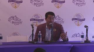 2019 Breeders' Cup Mile Post Race Press Conference - Uni