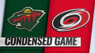 03/23/19 Condensed Game: Wild @ Hurricanes