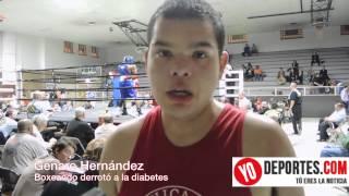 Genaro Hernandez derrotó a la diabetes