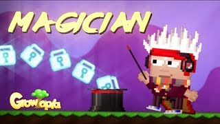 Magician - Growtopia (Animation)