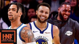 LA Lakers vs GS Warriors - Full Game Highlights | October 18, 2019 NBA Preseason