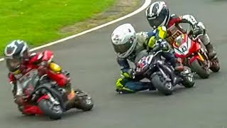 6m+ views of Kids In INCREDIBLE Minimoto Motorcycle Race! Cool FAB 2017 Rd 4, Minimoto Pro Class