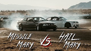 MISSILE MARY + HAIL MARY E46 DRIFTS TOGETHER x Andy's Tires Slay Day