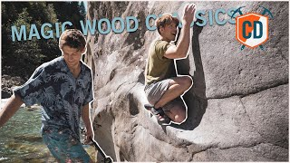 Eric Karlsson And Emil Abrahamsson Climbing Some Classics   Climbing Daily Ep.1895