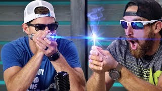 World's Strongest Laser   Overtime 5   Dude Perfect