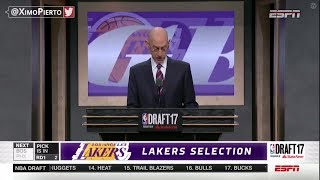 2017 NBA Draft Round 1 Draft Picks From 1 to 30 highlights