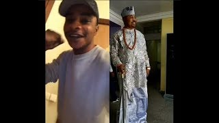 MC Oluomo Son Singing To God As He recovery From The Poisonous Knife he got stabbed With