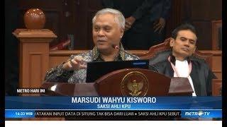 Bantahan Telak Saksi KPU atas Dalil Kubu Prabowo Soal Situng