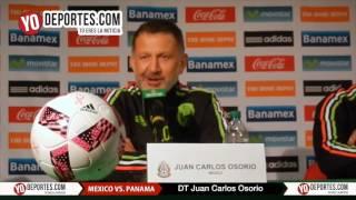 Juan Carlos Osorio conferencia previa Mexico Panama Toyota Park Chicago