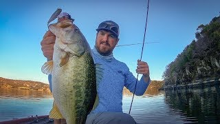 A Day On The Water With TacticalBassin : Late Fall Bass Fishing