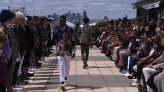 Fashion Week homme: défilé Rynshu à Paris
