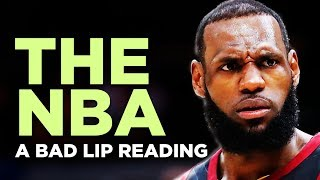 ″THE NBA″ — A Bad Lip Reading
