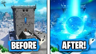 NEW ″Polar Peak″ is getting ″DESTROYED″ by Ice Ball Says Epic (RIP POLAR PEAK!!)