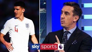 Can Declan Rice become a world class midfielder?   Gary Neville & Jamie Carragher   MNF